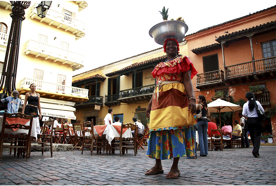 Plaza de Cartagena, Colombia